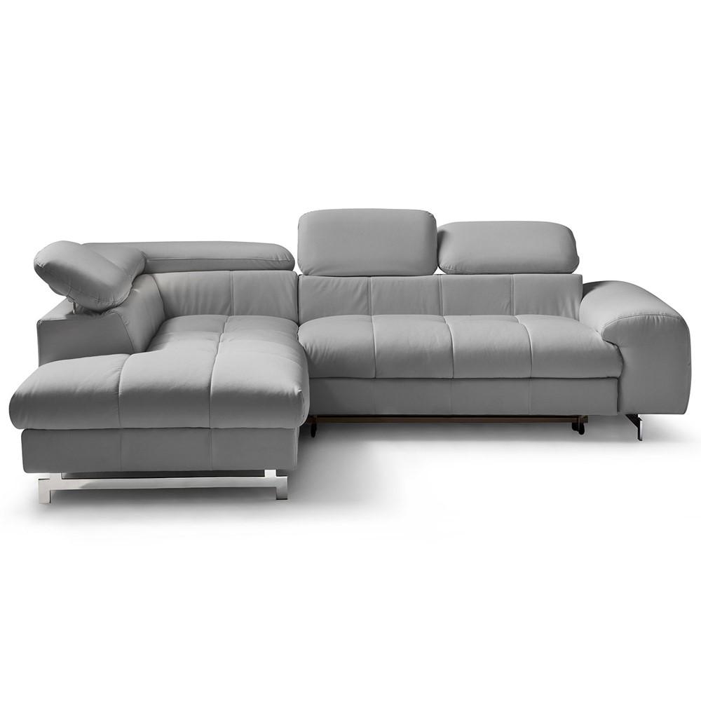 divano letto angolare sinistro design cod. a006956 - cogal home