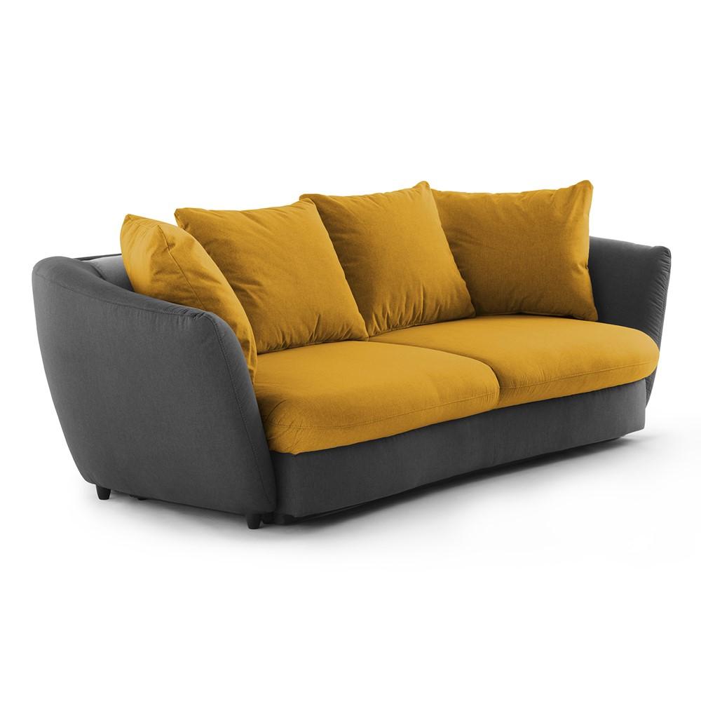 Divano Letto Giallo.Divano Letto 3 Posti Design Cod A020572 Cogal Home