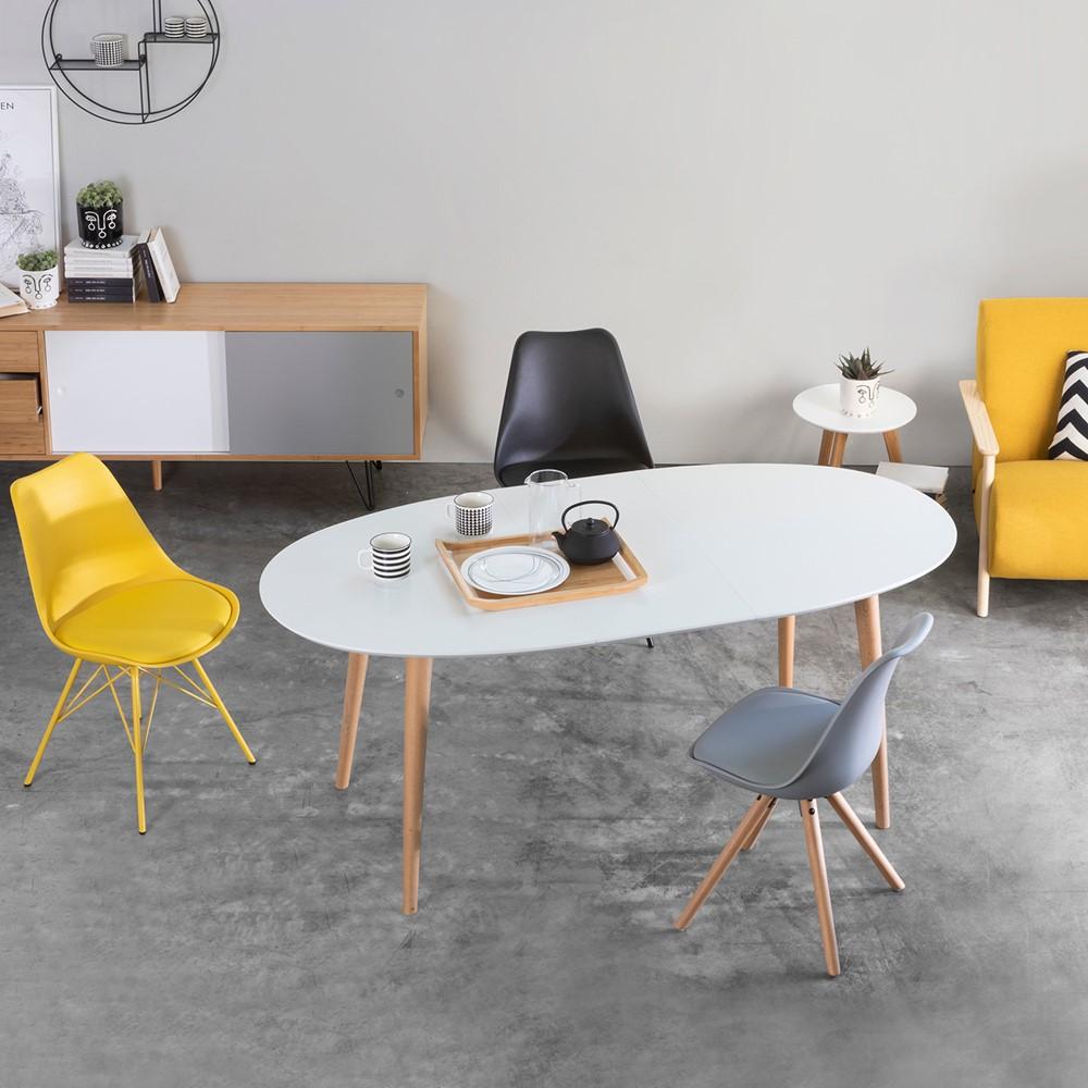 Tavolo Allungabile Nordic Cod A012083 Cogal Home