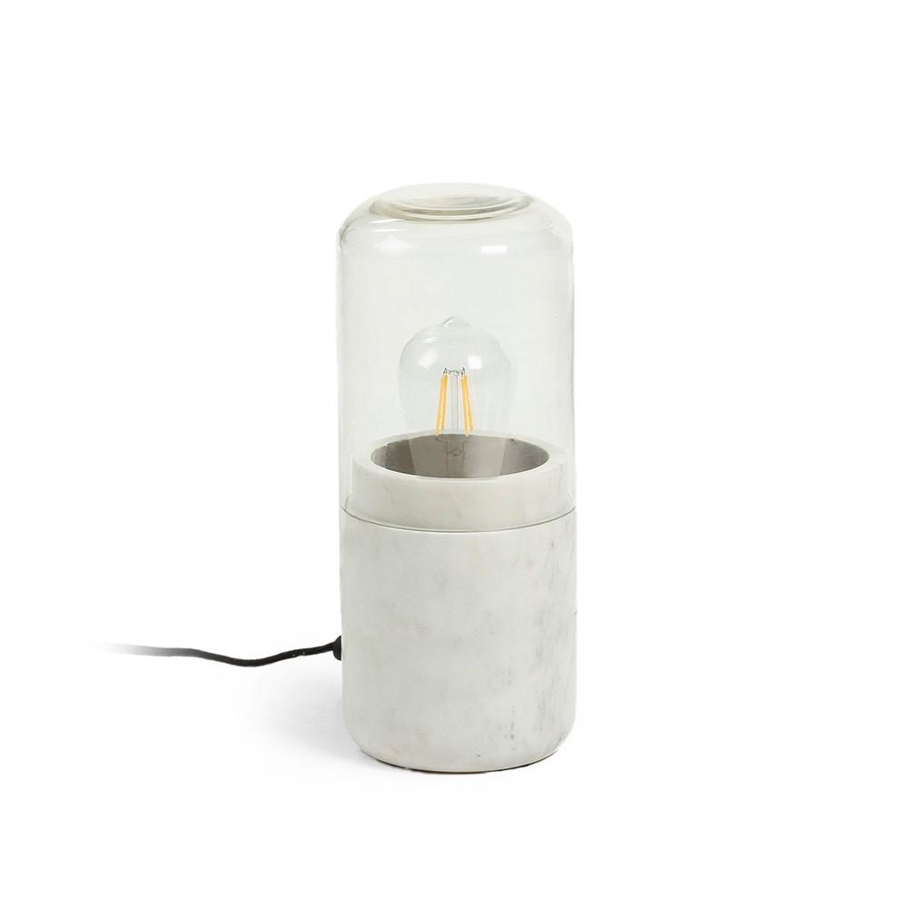Tavolo In Marmo Bianco.Lampada Da Tavolo Glamour Chic Cod A021818 Cogal Home