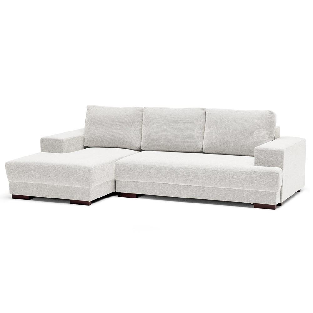 Divano Letto Bianco.Divano Letto Angolare Sinistro Design Cod A010473 Cogal Home