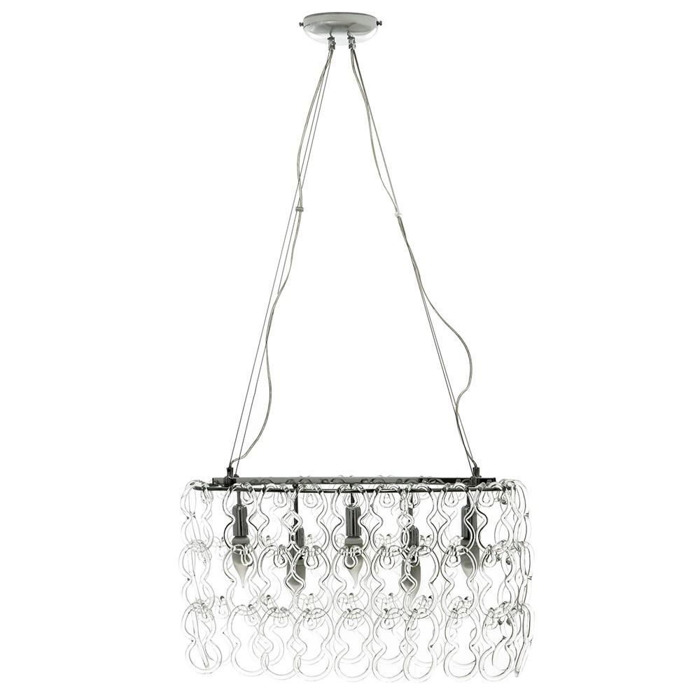 Lampade Da Parete In Vetro Trasparente: Viva lampada da parete per interni in vetro trasparente ...