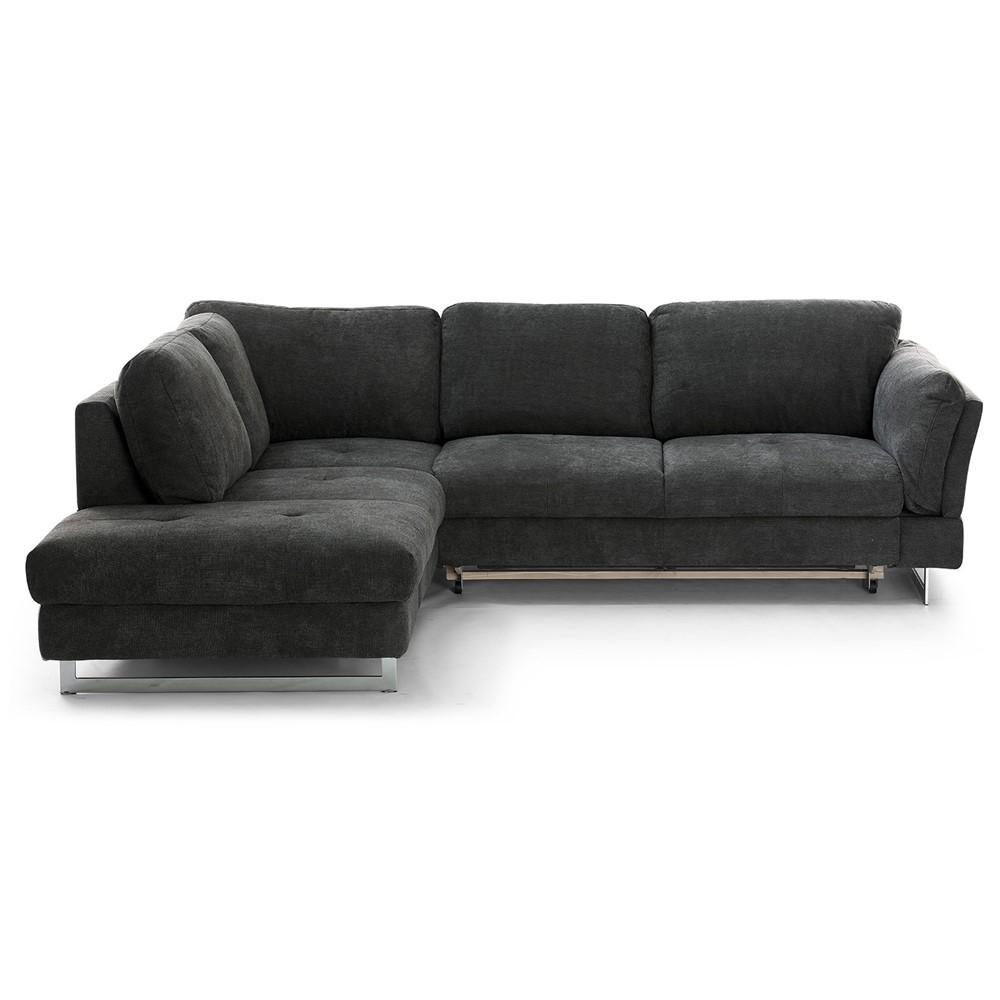 Divano letto angolare sinistro design cod a014485 cogal - Divano letto angolare divani e divani ...