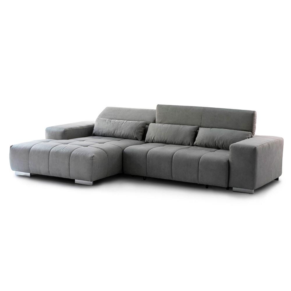 Divano Angolare Chaise Longue.Divano Angolare Sinistro Nordic Cod A018703 Cogal Home