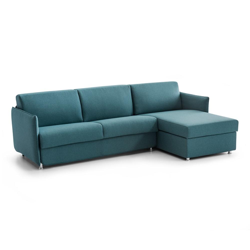 Divano Letto Azzurro.Divano Letto Angolare Design Cod A020381 Cogal Home
