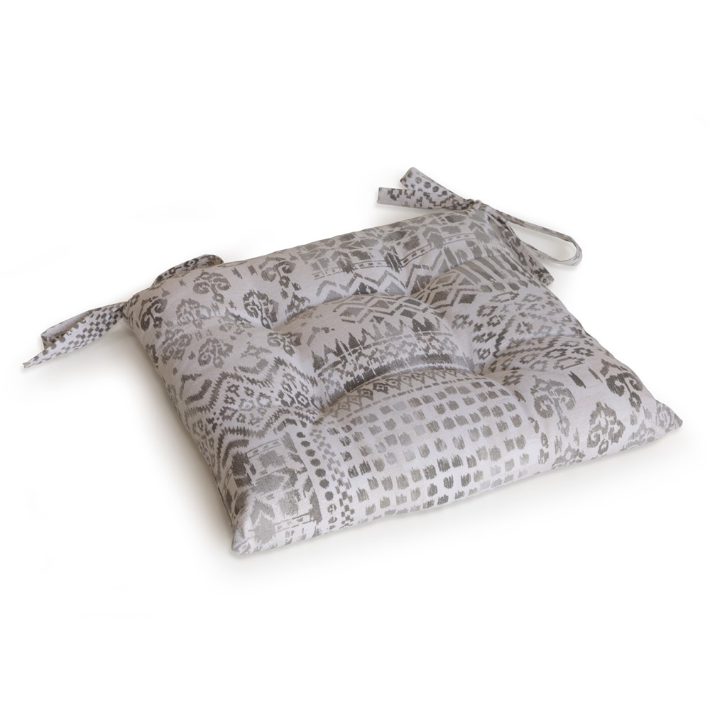 Cuscino per sedia Etna Bianco