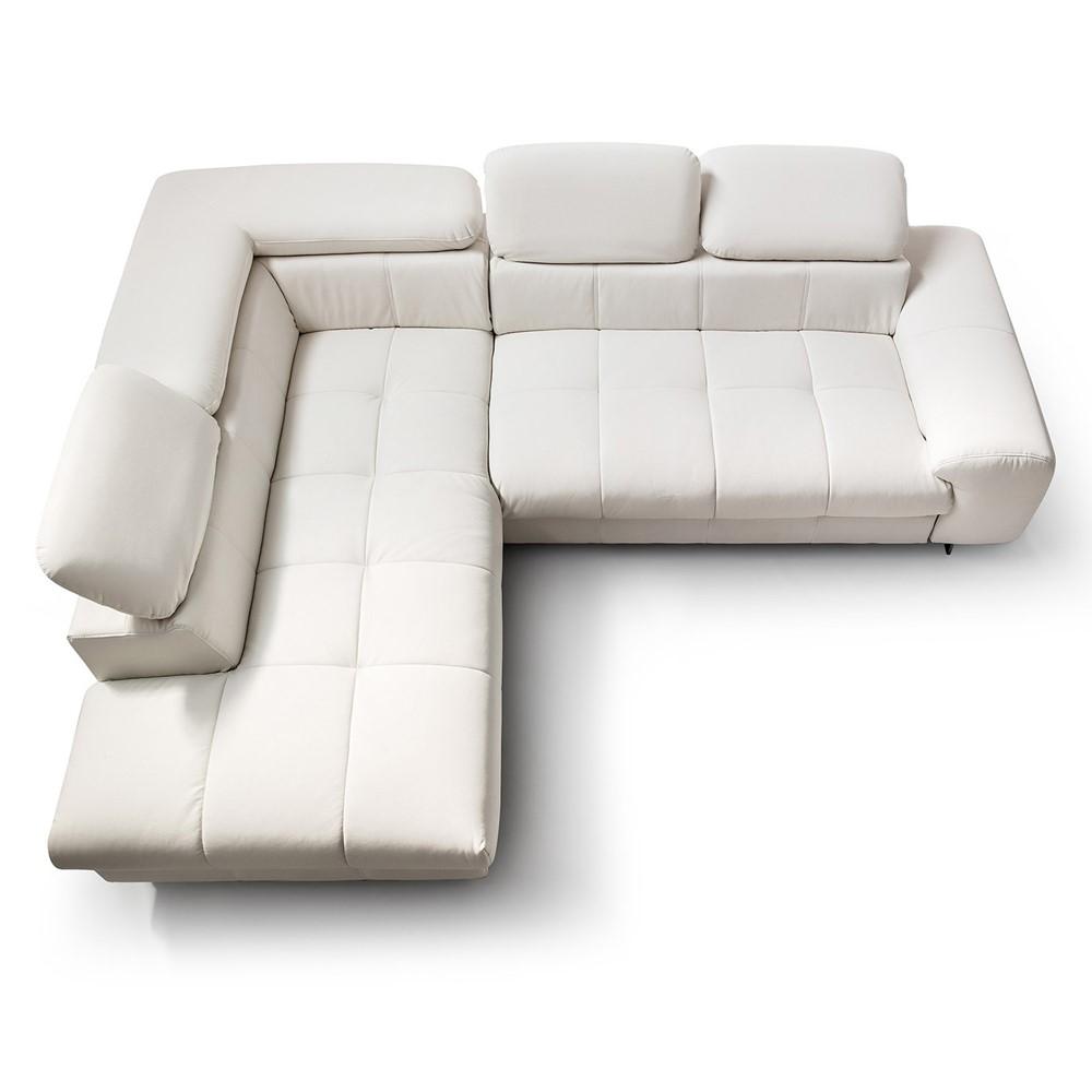 Divano Letto Angolare Bianco.Divano Letto Angolare Sinistro Design Cod A006953 Cogal Home