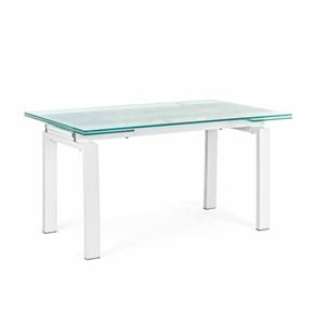 Tavolo Allungabile Moderno Cristallo.Tavoli Allungabili Tavoli Moderni In Vetro E Legno