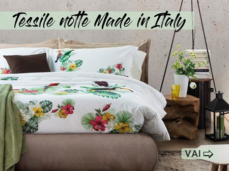 Tessile notte Made in Italy
